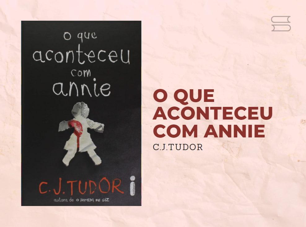 livro o que aconteceu com annie