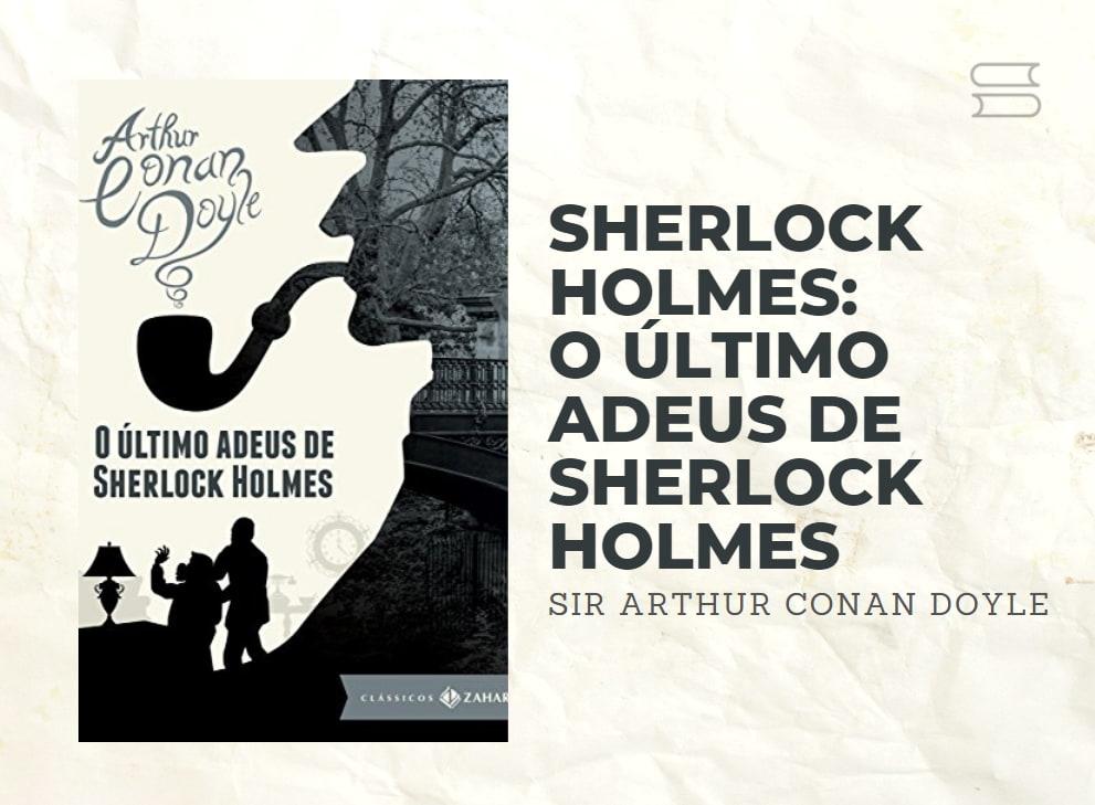 livro o ultimo adeus de sherlock holmes