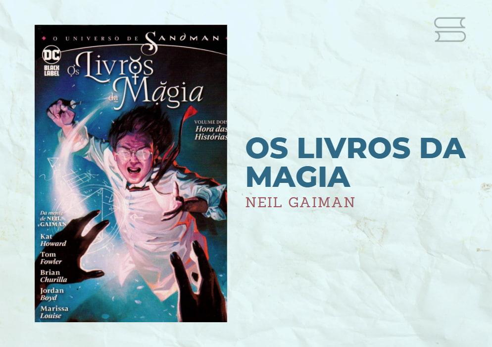 livro os livros da magia