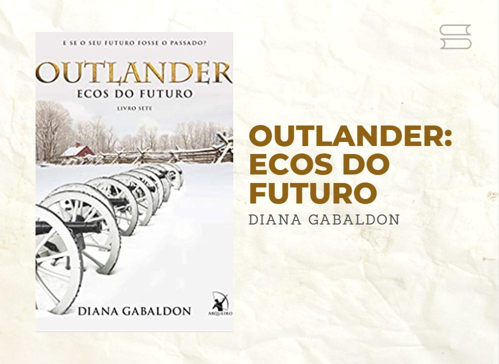 livro outlander ecos do futuro