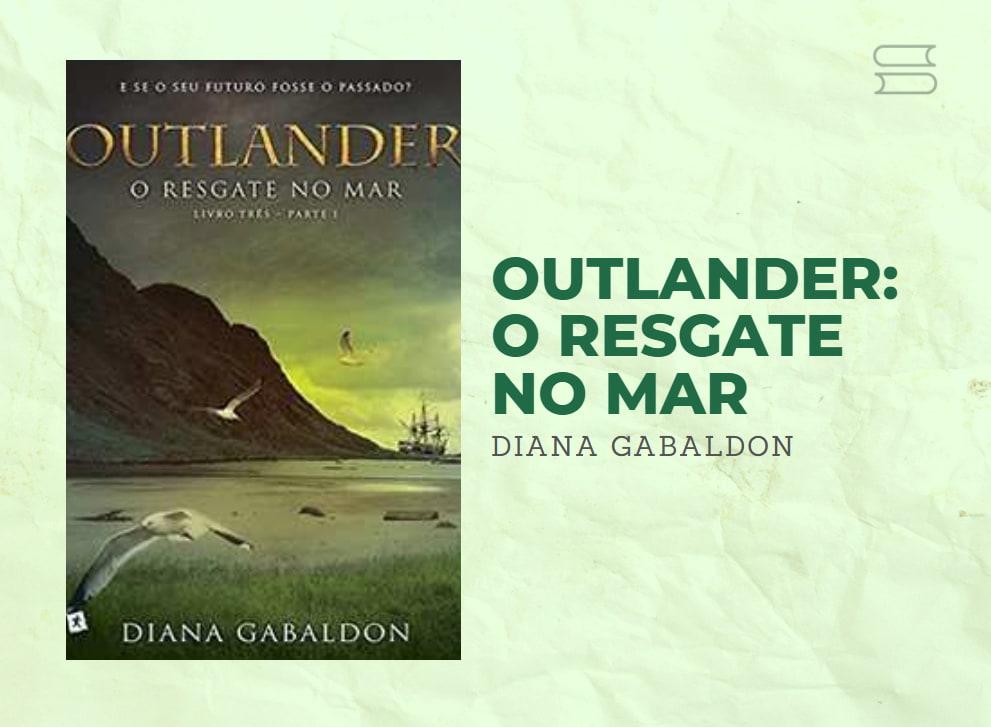 livro outlander o resgate no mar