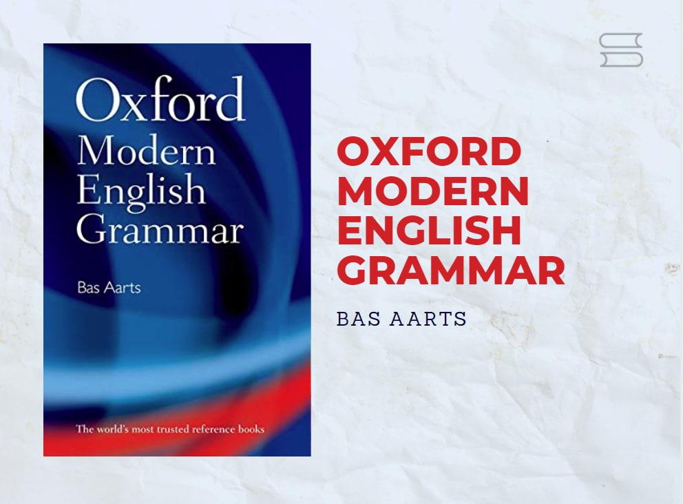 livro oxford modern english grammar