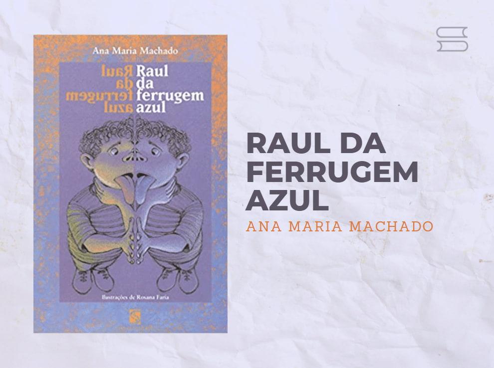 livro raul da ferrugem azul