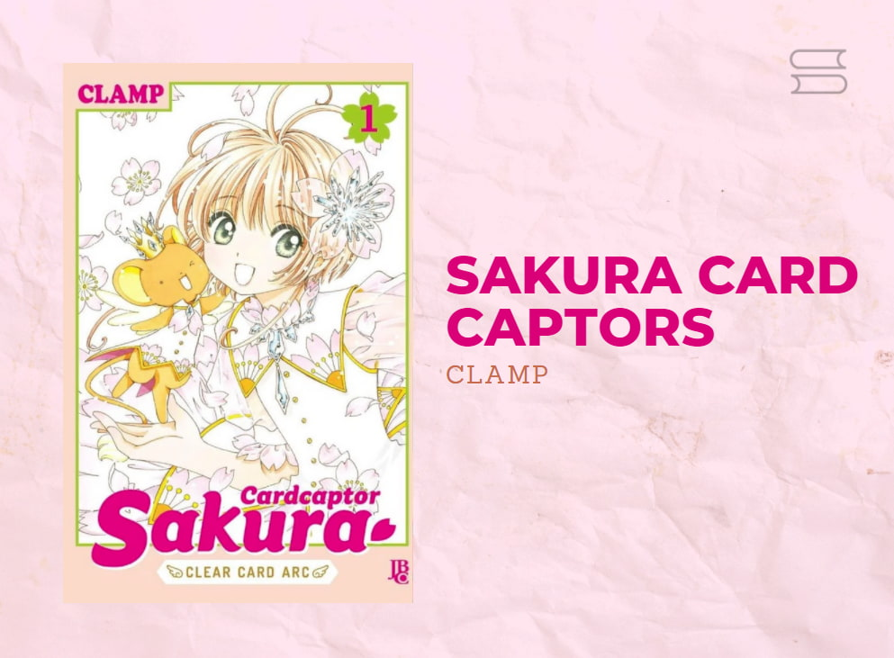 livro sakura card captors
