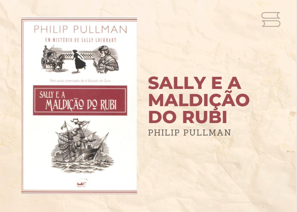 livro sally e a maldicao do rubi