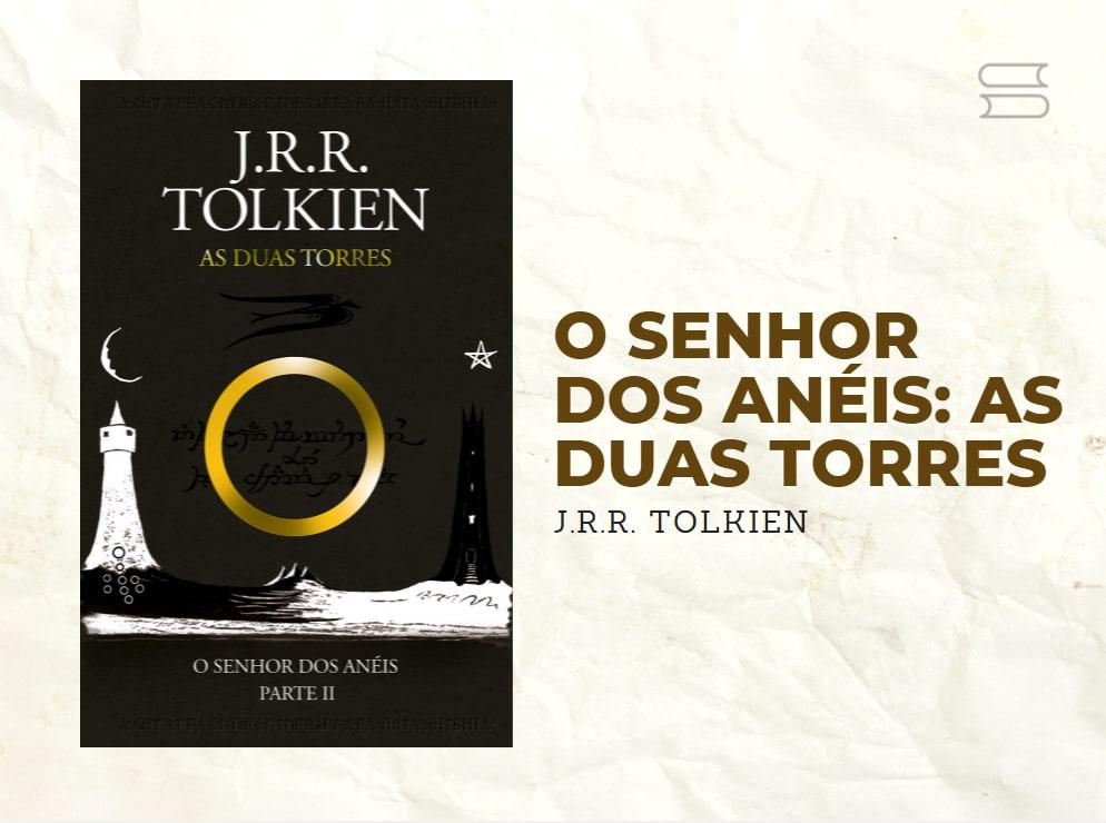 livro senhor dos aneis as duas torres