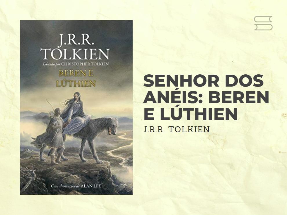 livro senhor dos aneis beren e luthien