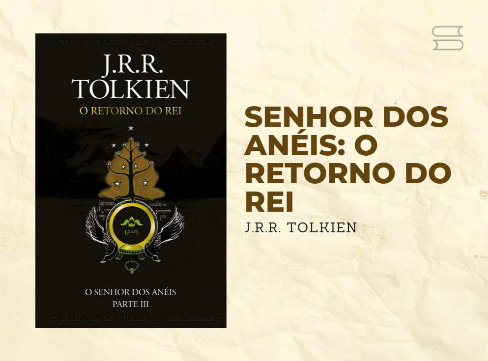 livro senhor dos aneis o retorno do rei