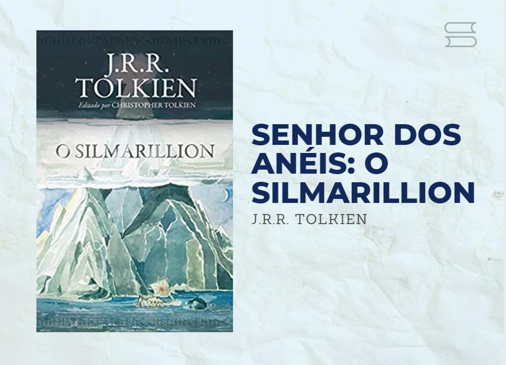 livro senhor dos aneis silmarillion