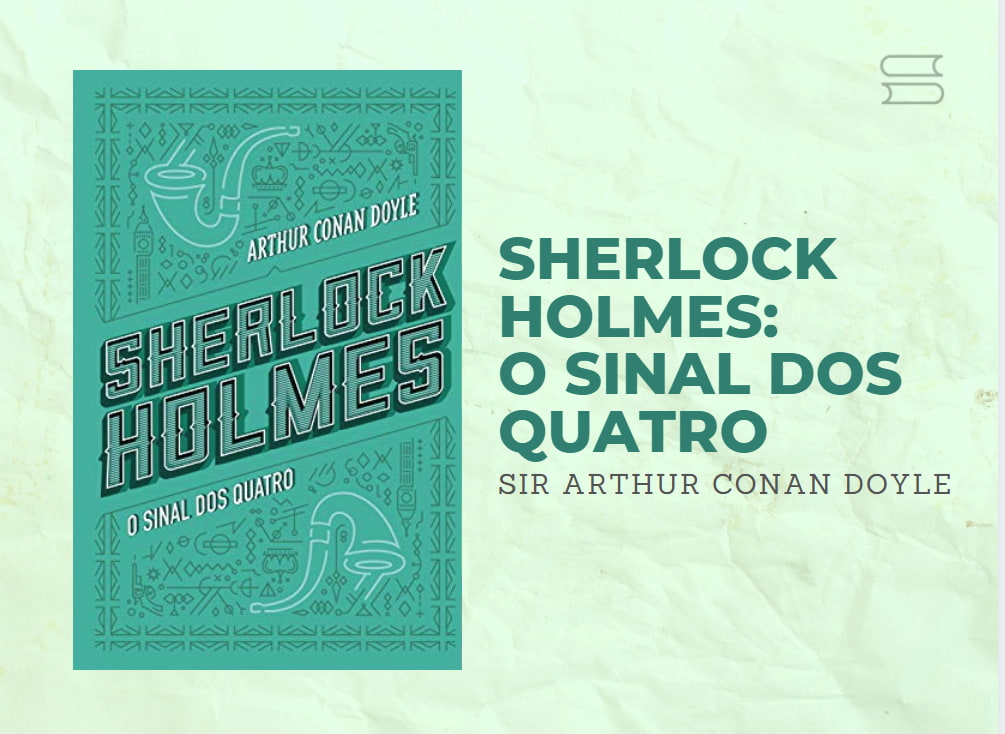 livro sherlock holmes o sinal dos quatro
