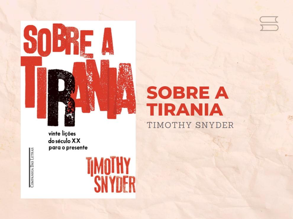 livro sobre a tirania