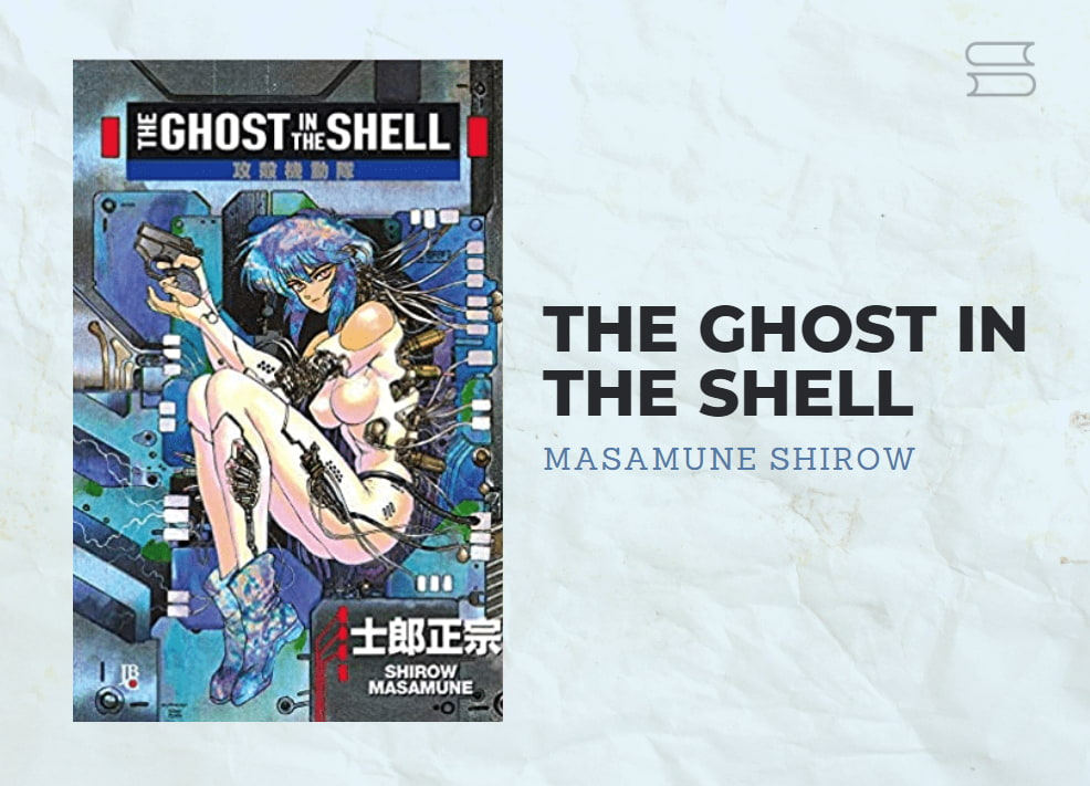 livro the ghost in the shell