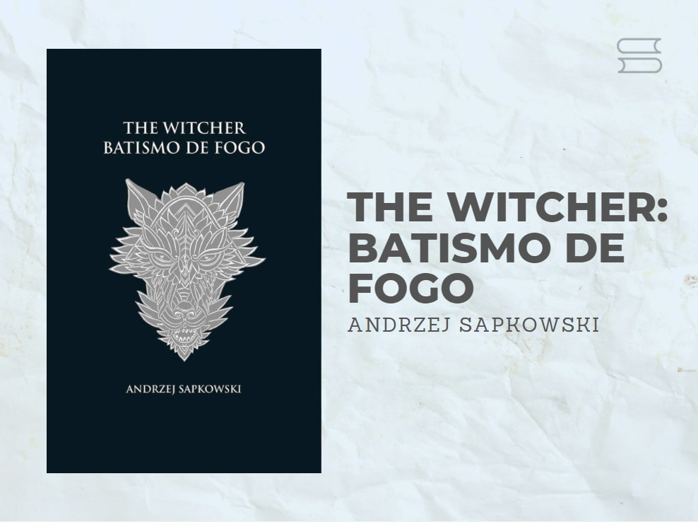 livro the witcher batismo de fogo