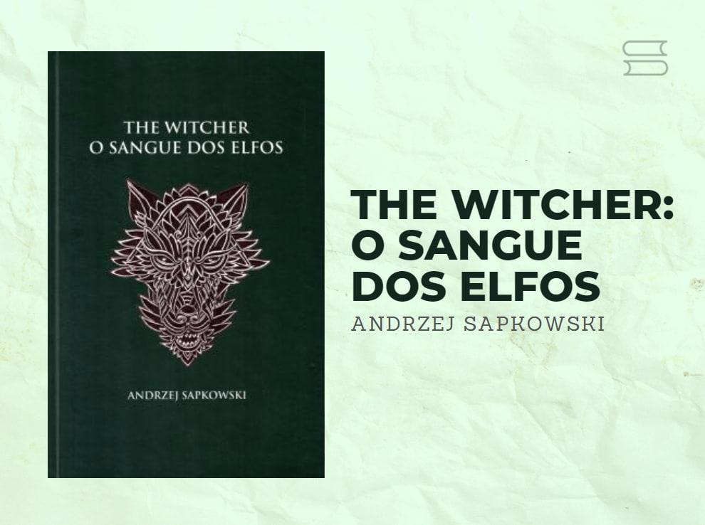 livro the witcher o sangue dos elfos