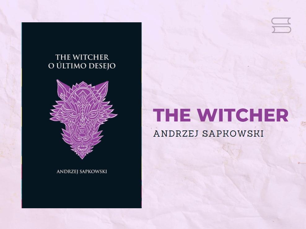 livro the witcher