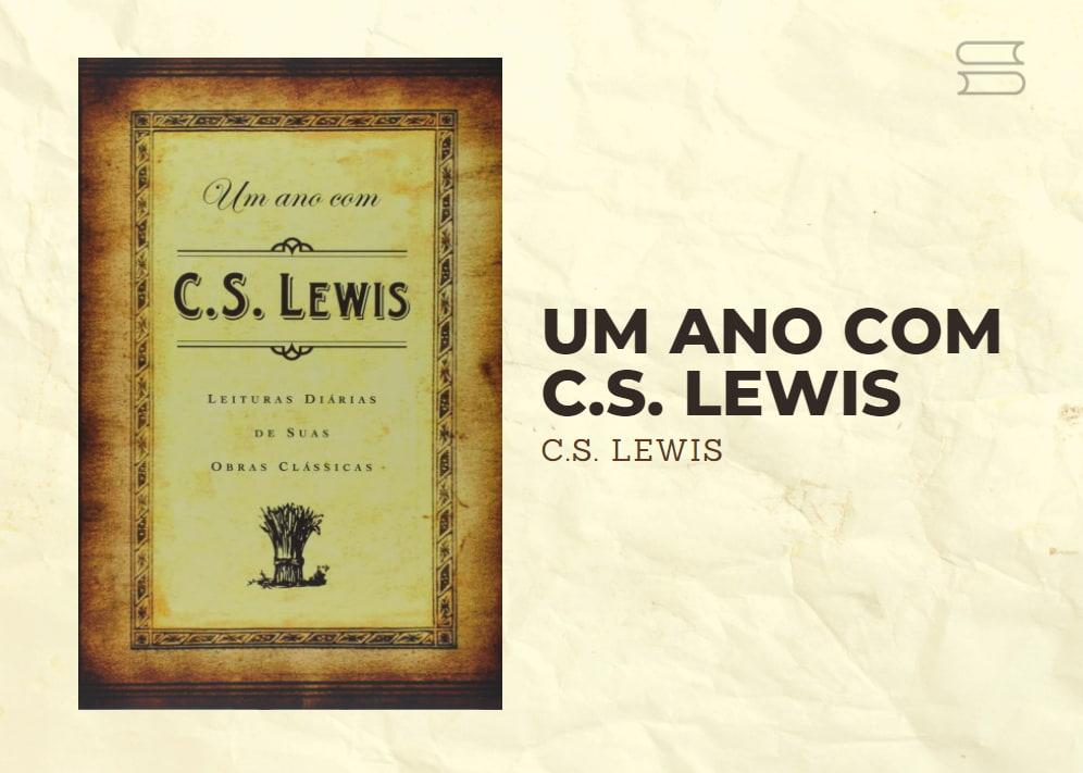 livro um ano com cs lewis