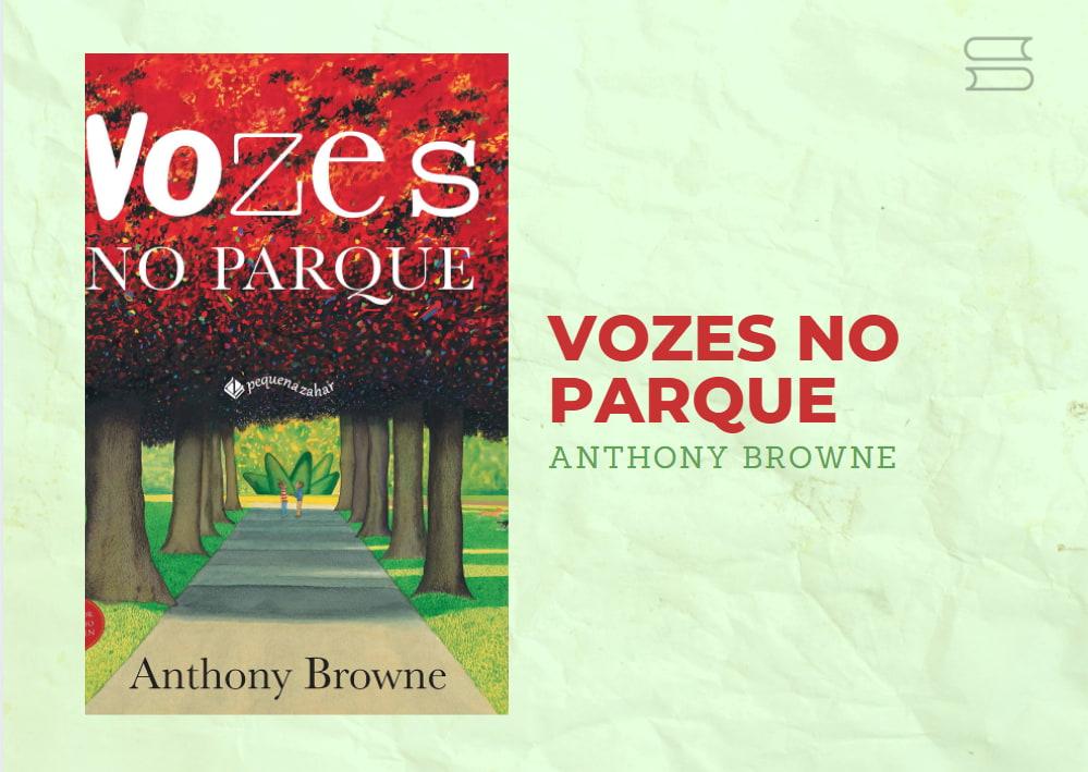 livro vozes no parque