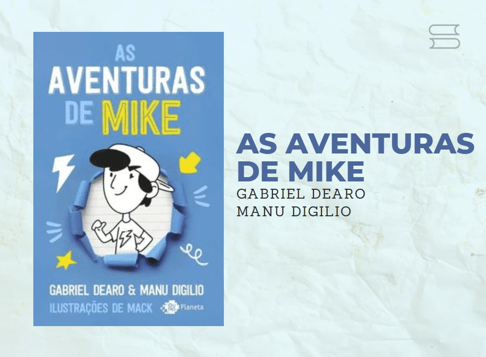 livros as aventuras de mike