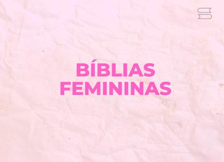 melhores biblias femininas