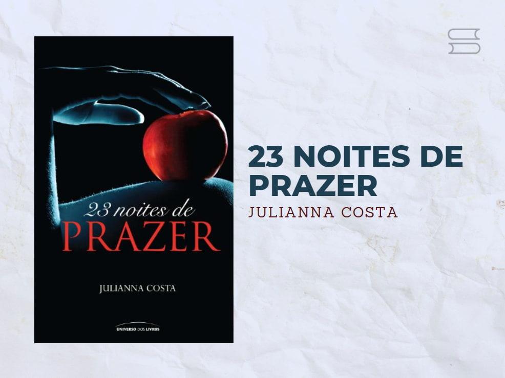 livro 23 noites de prazer
