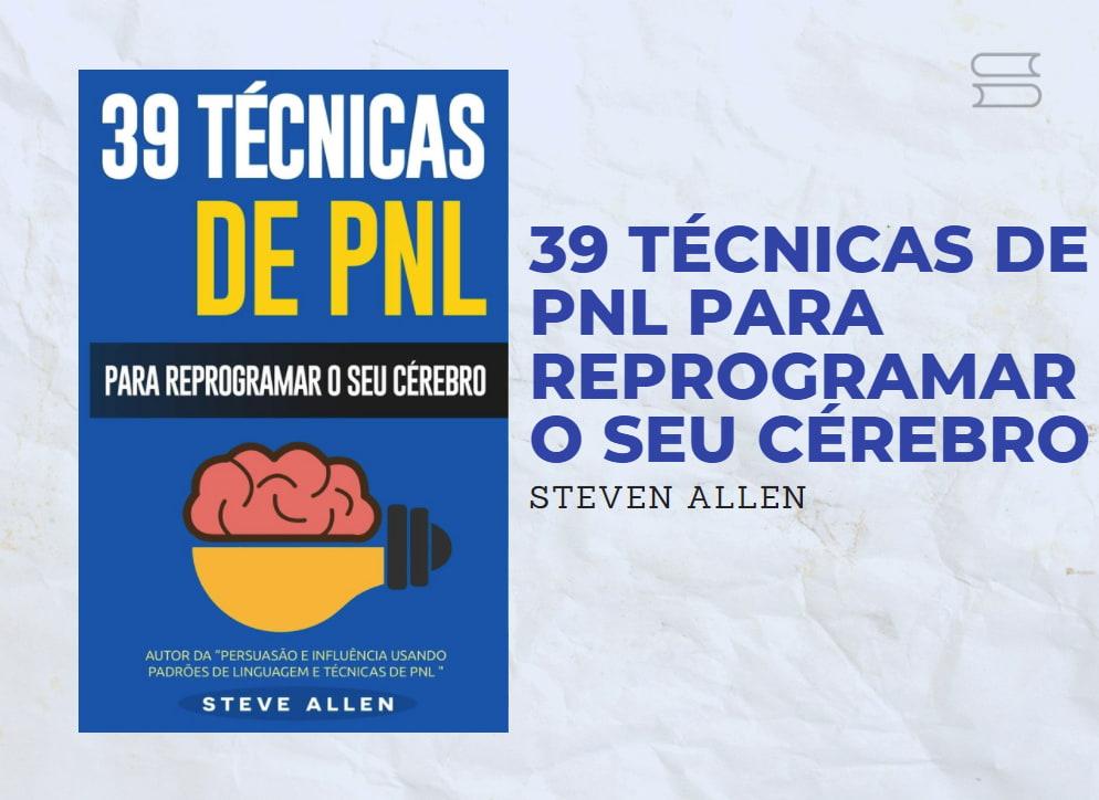 livro 39 tecnicas de pnl