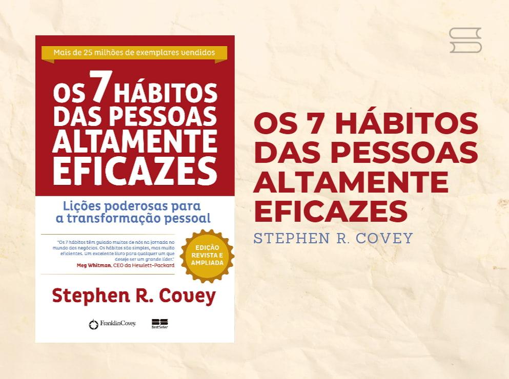 livro 7 habitos das pessoas altamente eficazes