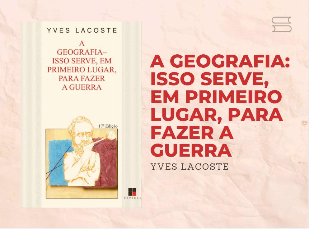 livro a geografia