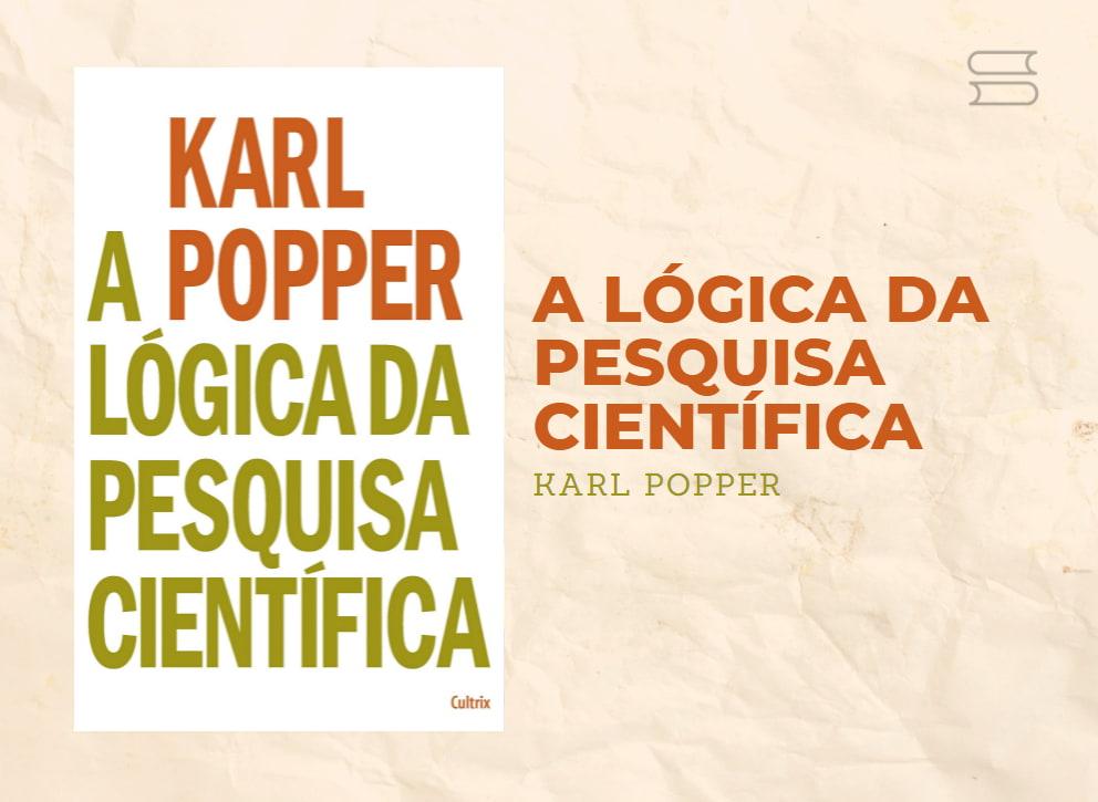 livro a logica da pesquisa cientifica