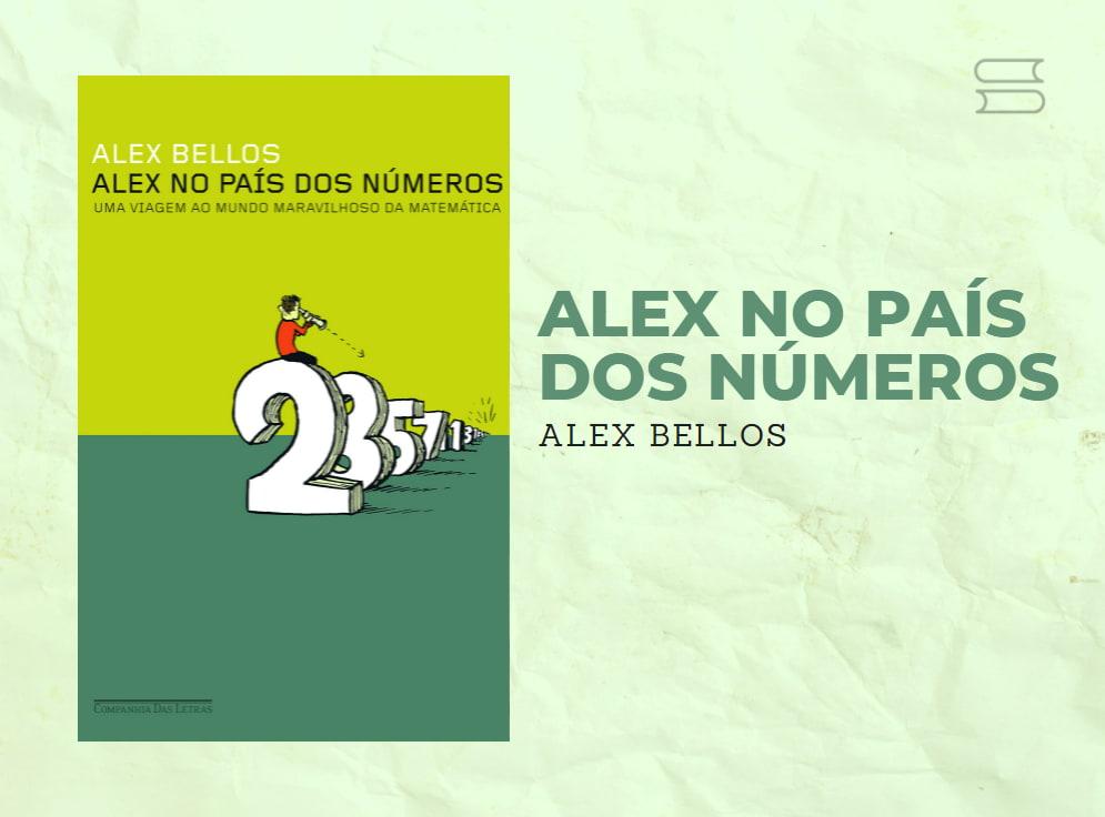 livro alex no pais dos numeros
