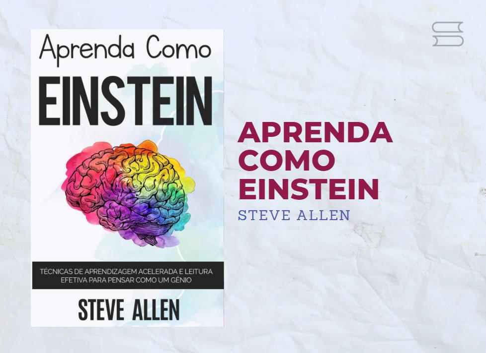 livro aprenda como einstein