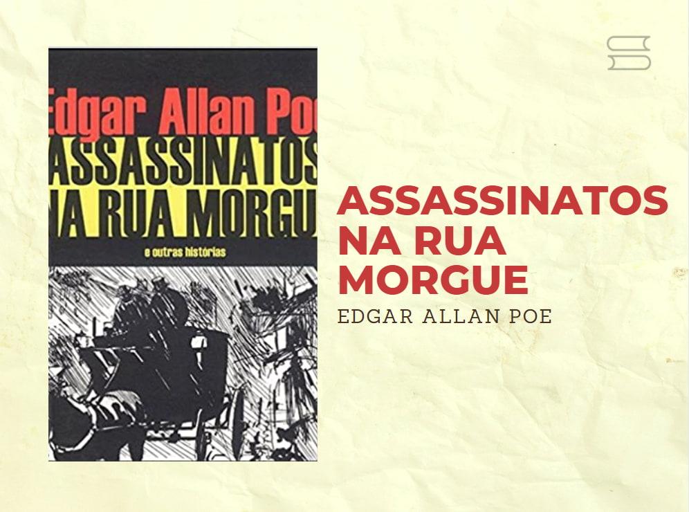 livro assassinatos na rua morgue