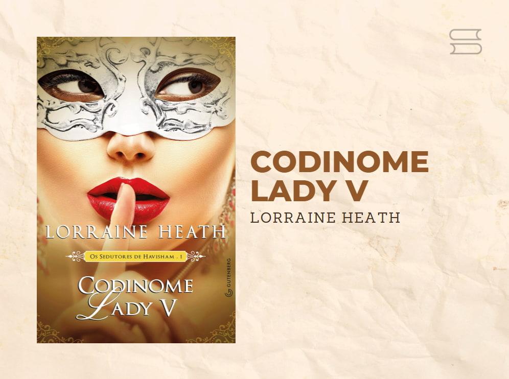 livro codinome lady v