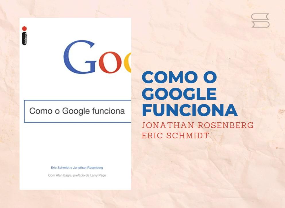 livro como o google funciona