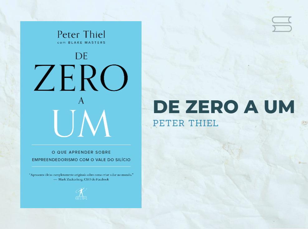 livro de zero a um