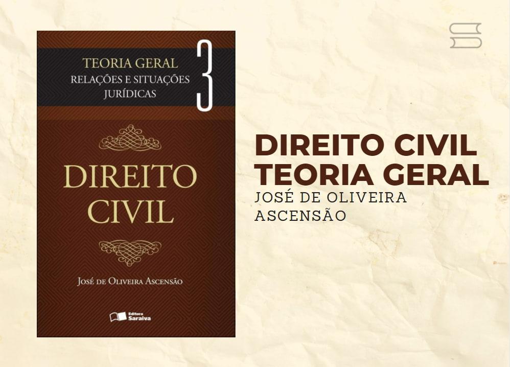 livro direito civil teoria geral