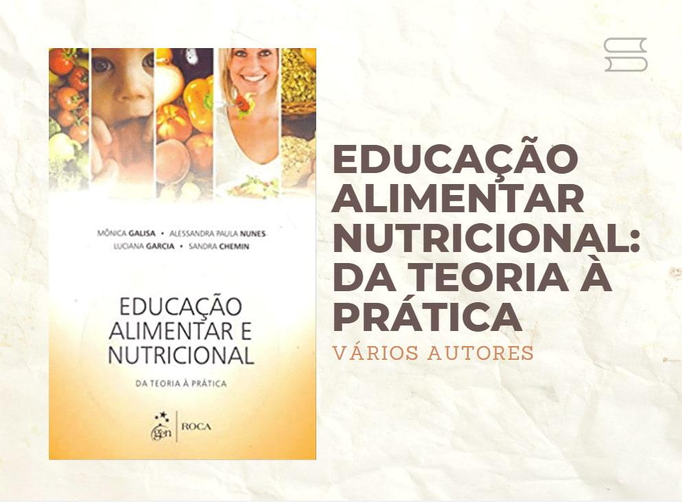 livro educacao alimentar nutricional
