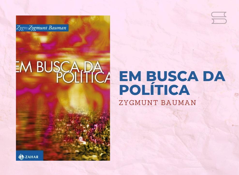 livro em busca da politica