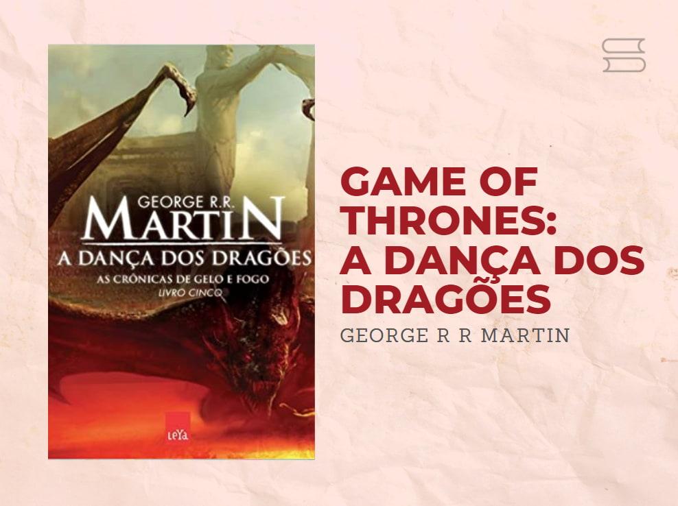 livro game of thrones a danca dos dragoes
