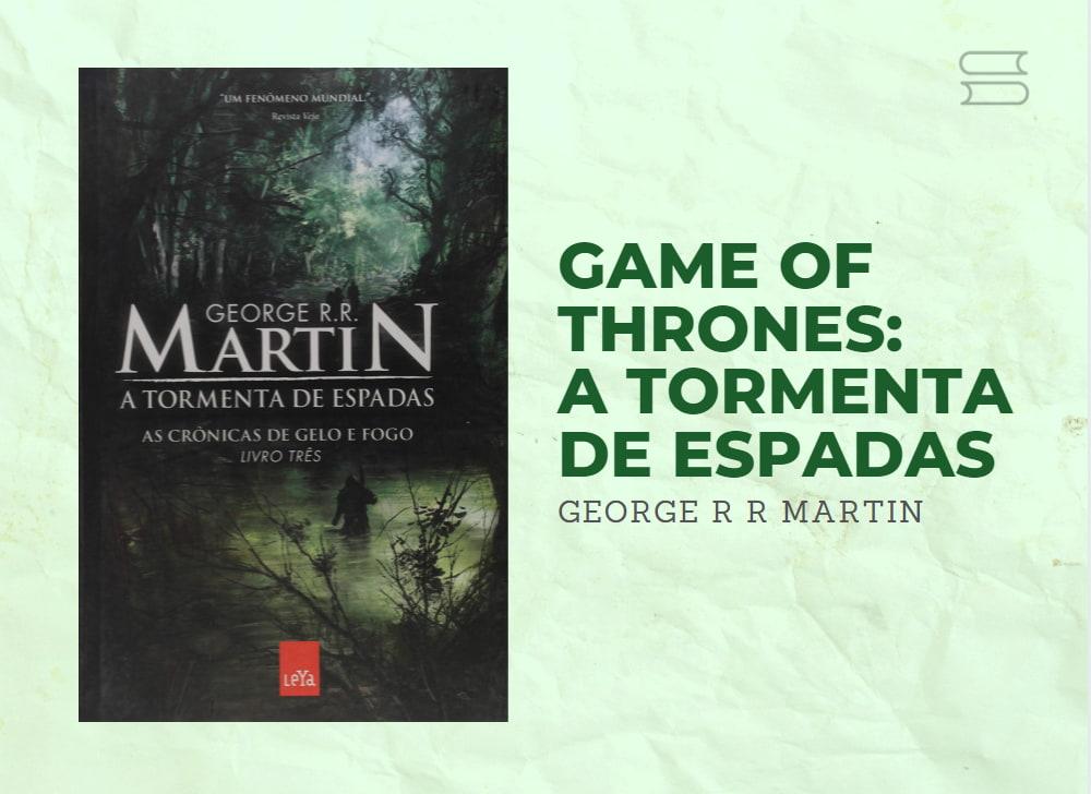 livro game of thrones a tormenta de espadas