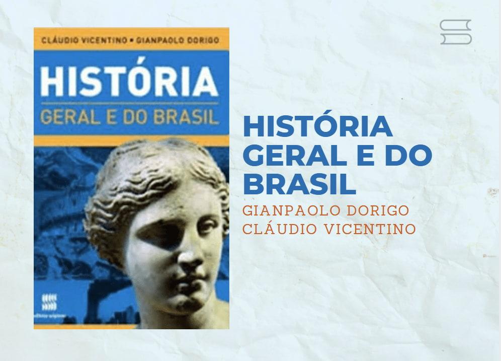 livro historia geral e do brasil