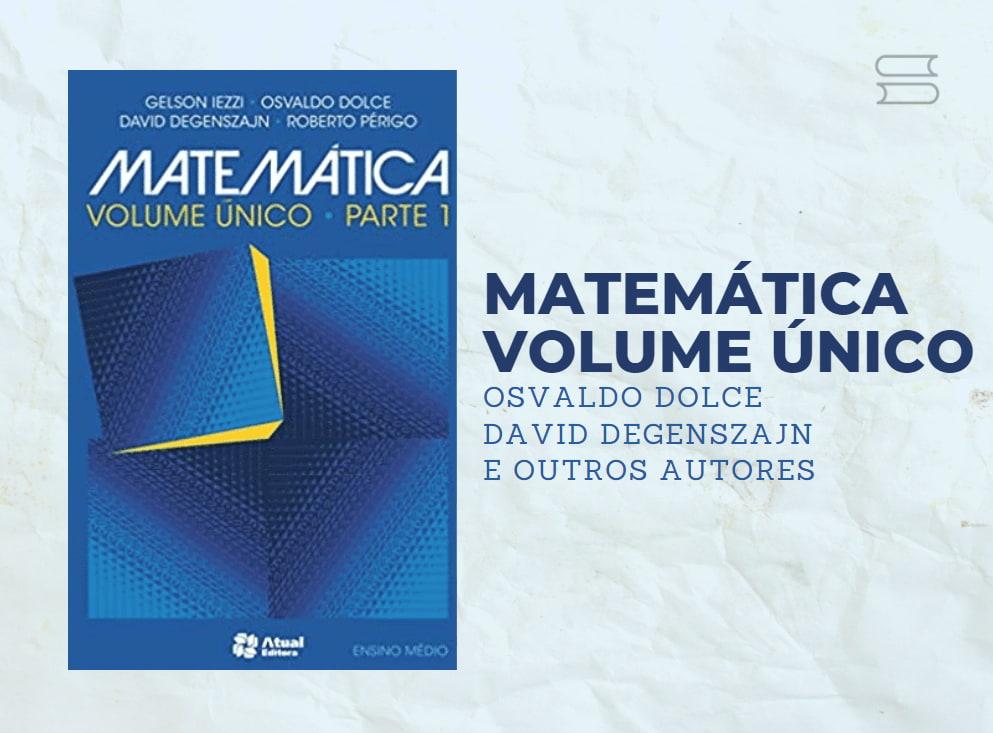 livro matematica volume unico
