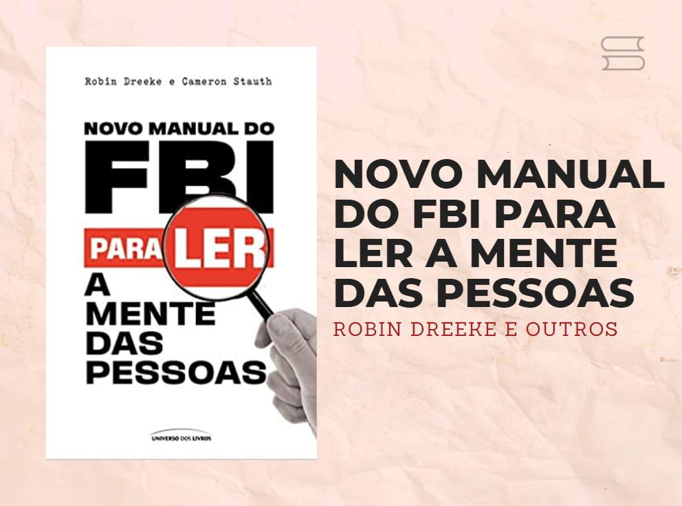 livro novo manual do fbi para ler a mente das pessoas