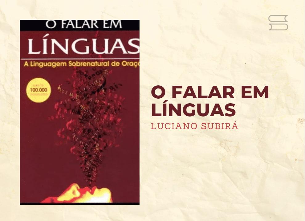 livro o falar em linguas