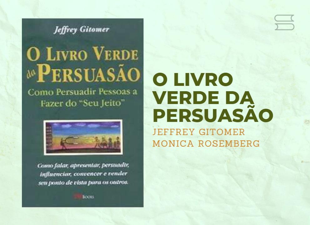 livro o livro verde da persuasao