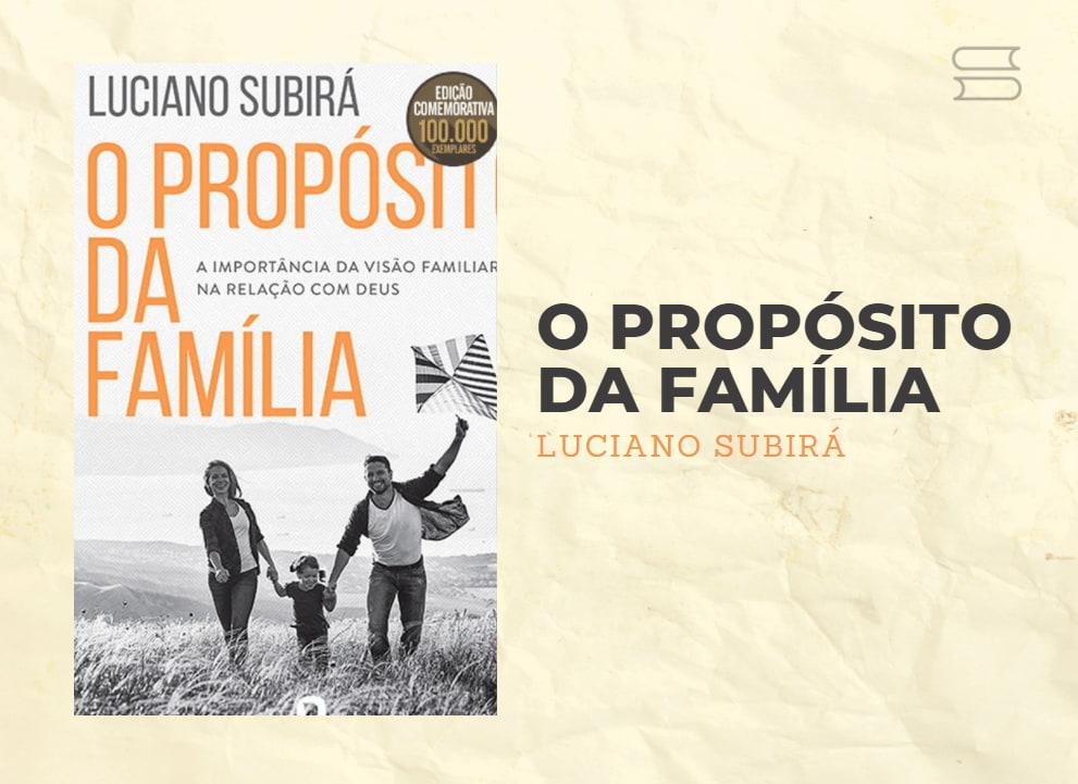 livro o proposito da familia