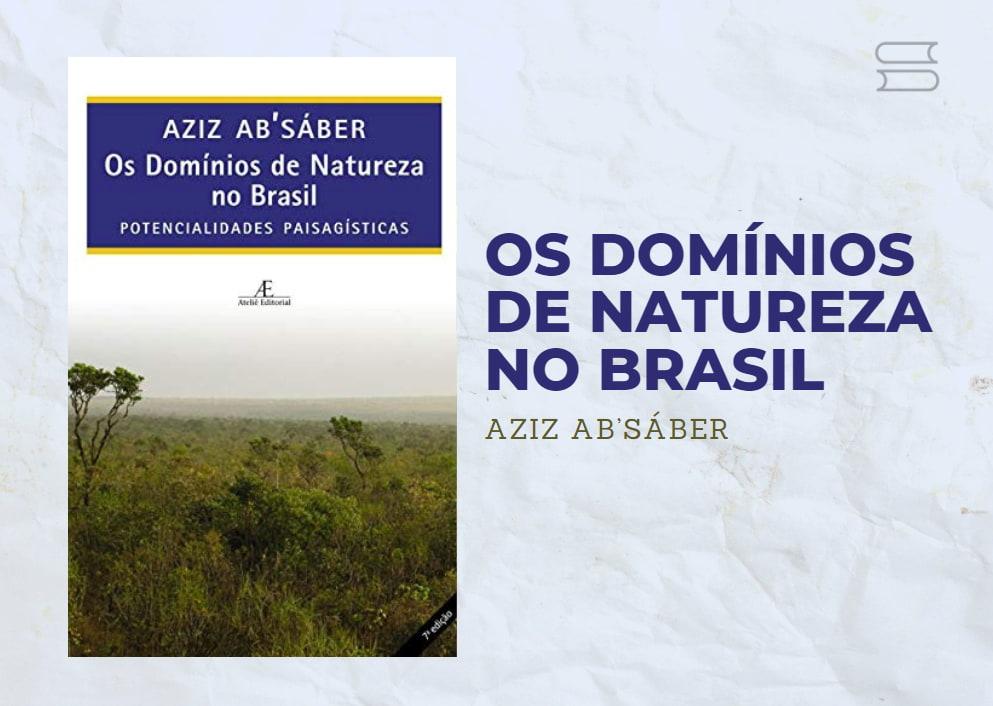 livro os dominios de naturezano brasil