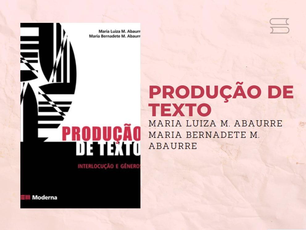 livro producao de texto