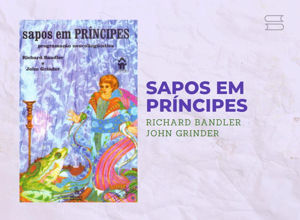 livro sapos em principes