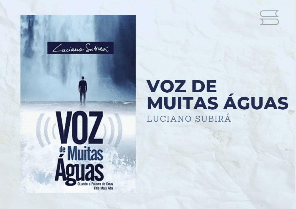 livro voz de muitas aguas