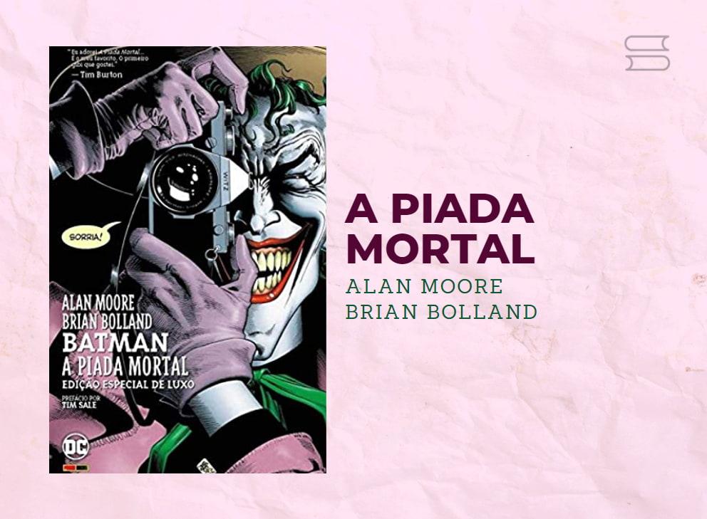 livro a piada mortal